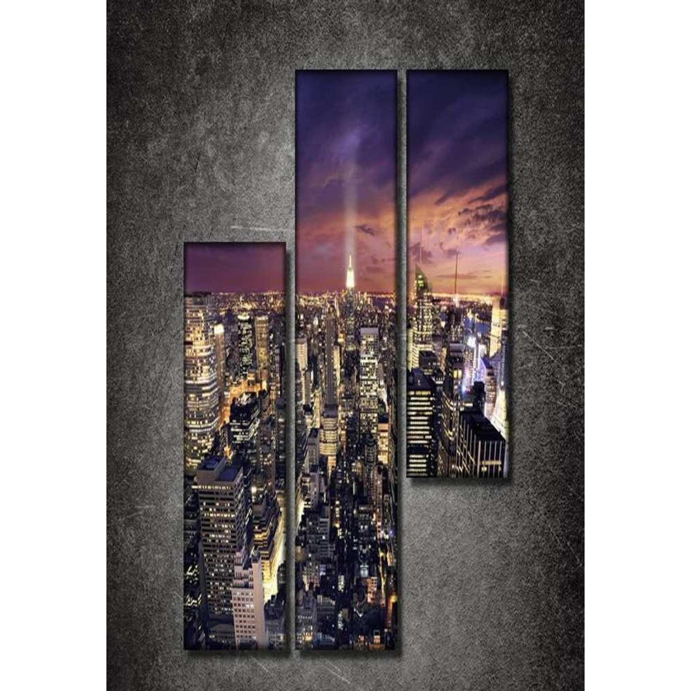 Tabloshop New York Set Parçalı Kanvas Tablo