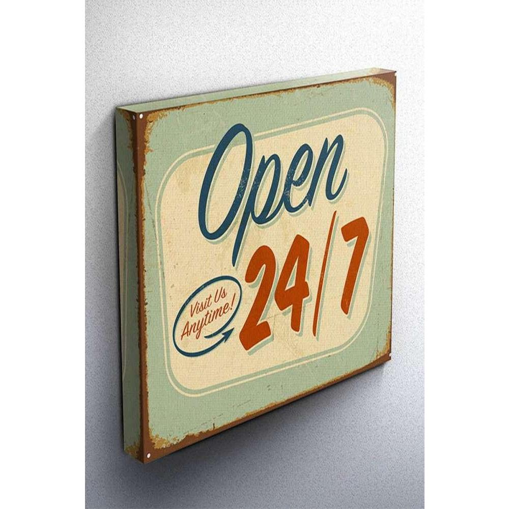 Tabloshop Open Vintage Kanvas Tablo
