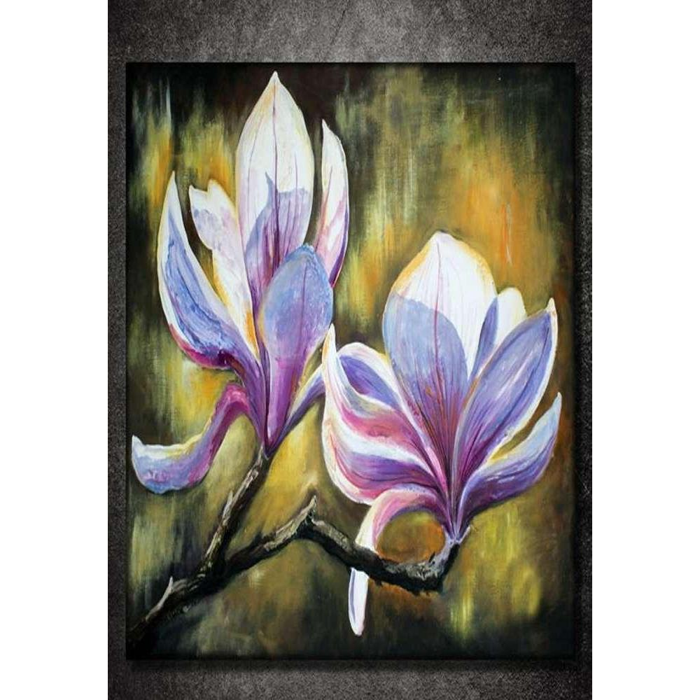 Tabloshop Painting Orchid Kanvas Tablo