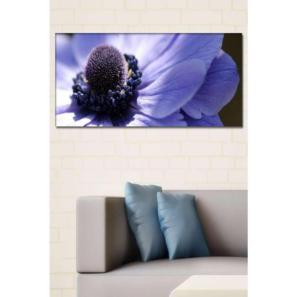 Tabloshop Purple Flowers II Kanvas Tablo