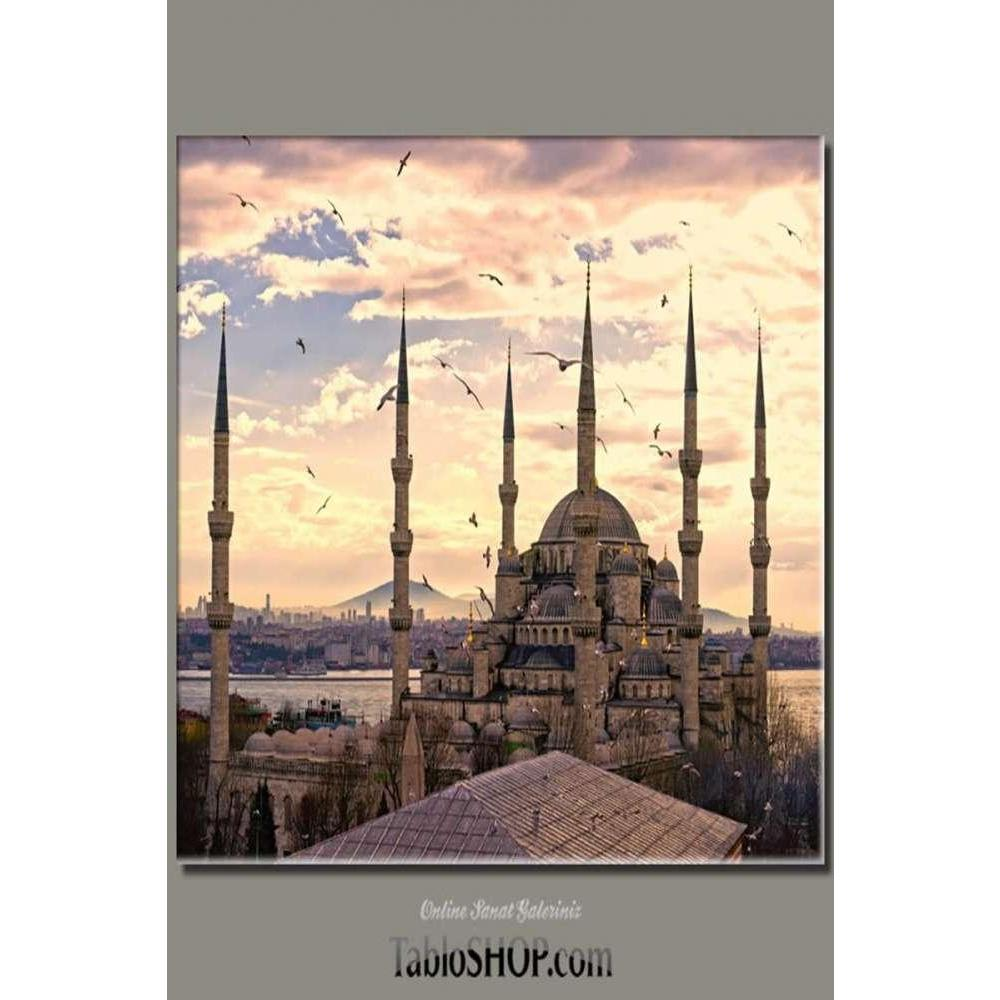 Tabloshop Sultan Ahmet Camii Kanvas Tablo