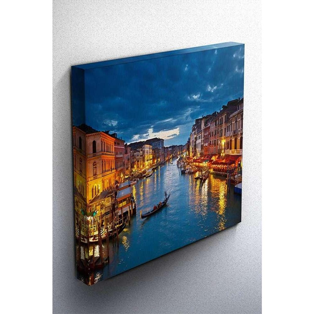 Tabloshop Venice Canal Kanvas Tablo