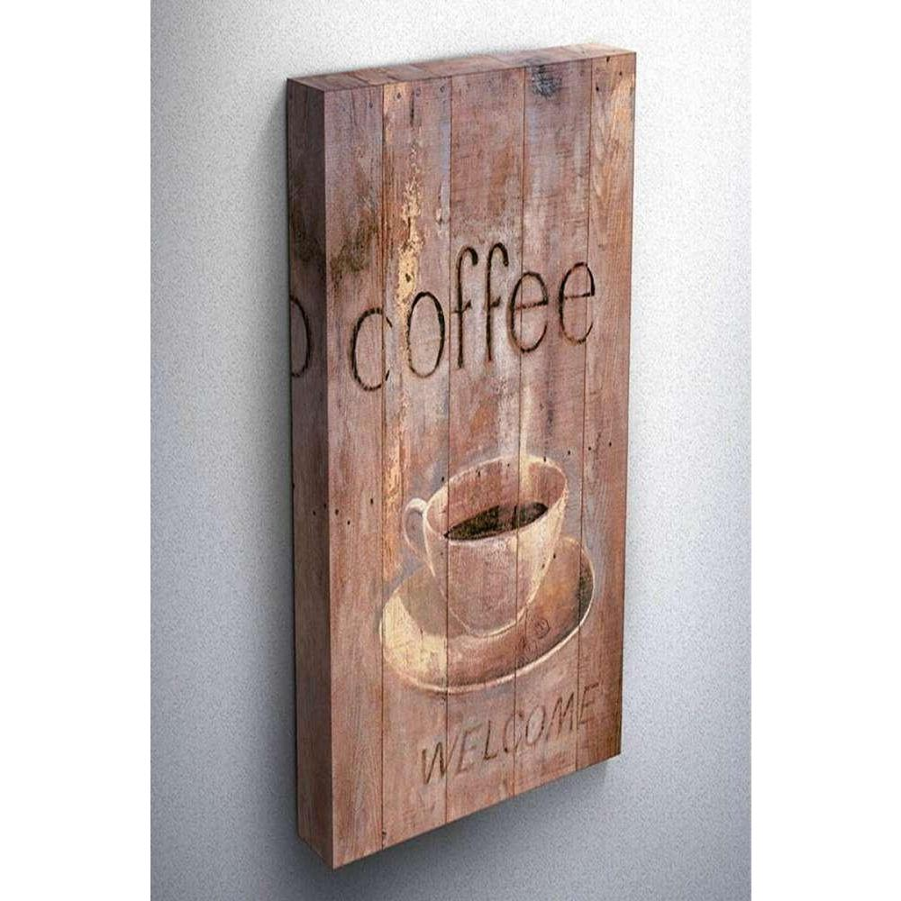 Tabloshop Vintage Coffee Kanvas Tablo