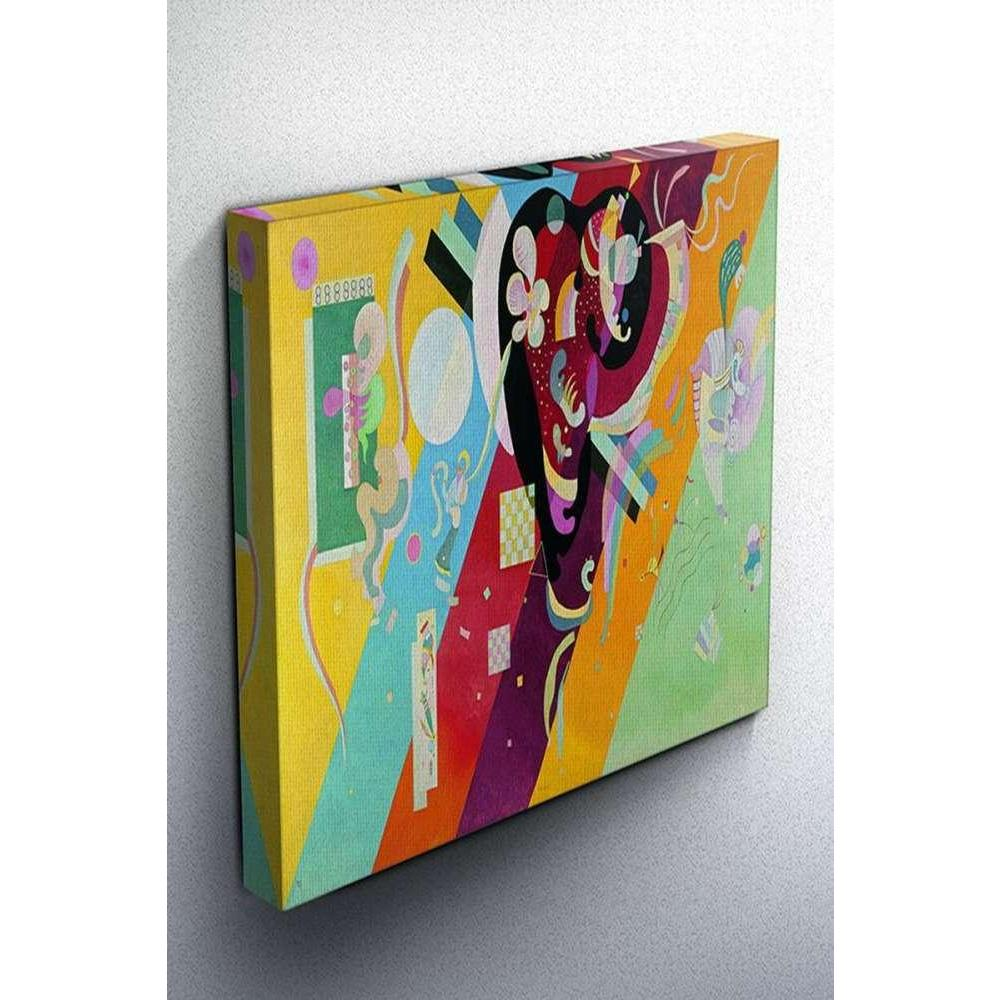 Tabloshop Wassily Kandinsky - Im Blau Kanvas Tablo