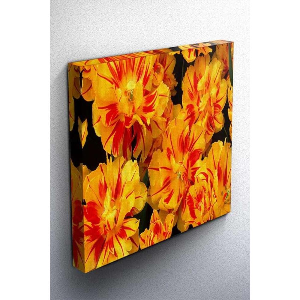 Tabloshop Yellow Flowers Kanvas Tablo