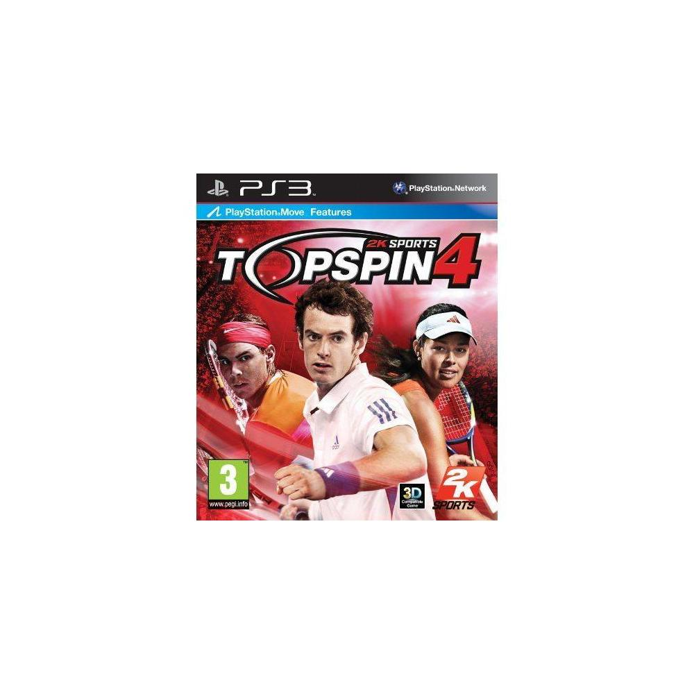 Top Spin 4 PS3 Oyunu