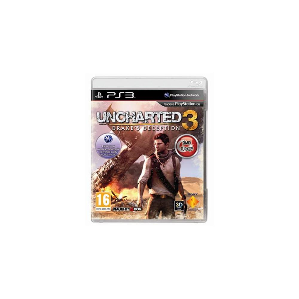 Uncharted 3 Drake's Deception PS3 Oyunu