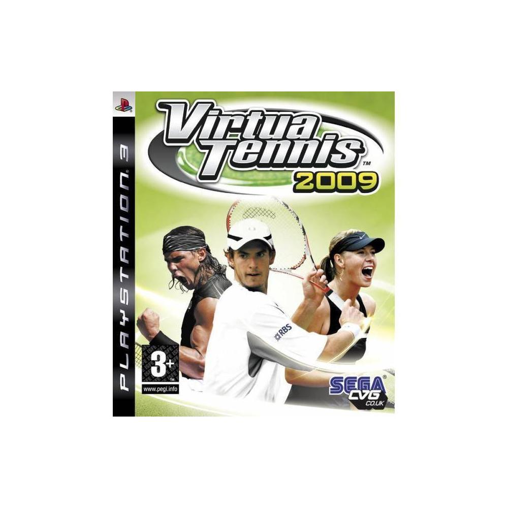 Virtua Tennis 2009 PS3 Oyunu