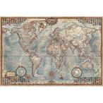 Educa The World , Executive Map 4000 Parça Puzzle