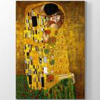 Tabloshop Gustav Klimt - The Kiss Kanvas Tablo