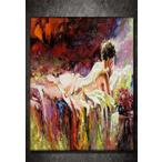 Tabloshop The Naked Girl Laying On A Bed Kanvas Tablo