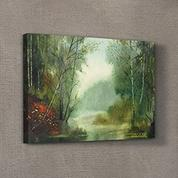 Artikel KS-1358 Forest River 50x70 cm Kanvas Tablo