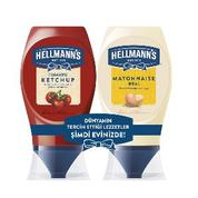 Hellmann's 525 gr Ketçap-Mayonez Mini Set