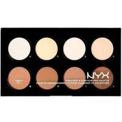 Nyx Professional Makeup Highlight Contour Pro Palette Highlighter Paleti