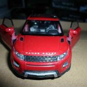 WELLY 1:32 ÇEK-BIRAK RANGE ROVER EVOQUE METAL