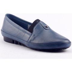 Ayakdaş 6500 Mavi Kadın Babet Ayakkabı