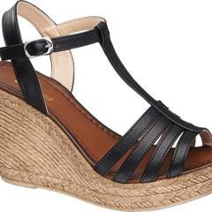 Graceland 1240809 Siyah Dolgu Topuk Ayakkabı