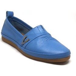Shop and Shoes 19761 Mavi Kadın Babet