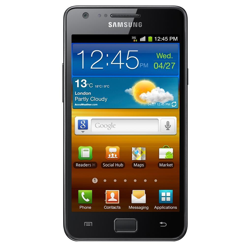 Samsung Galaxy S2 I9100 Siyah Cep Telefonu