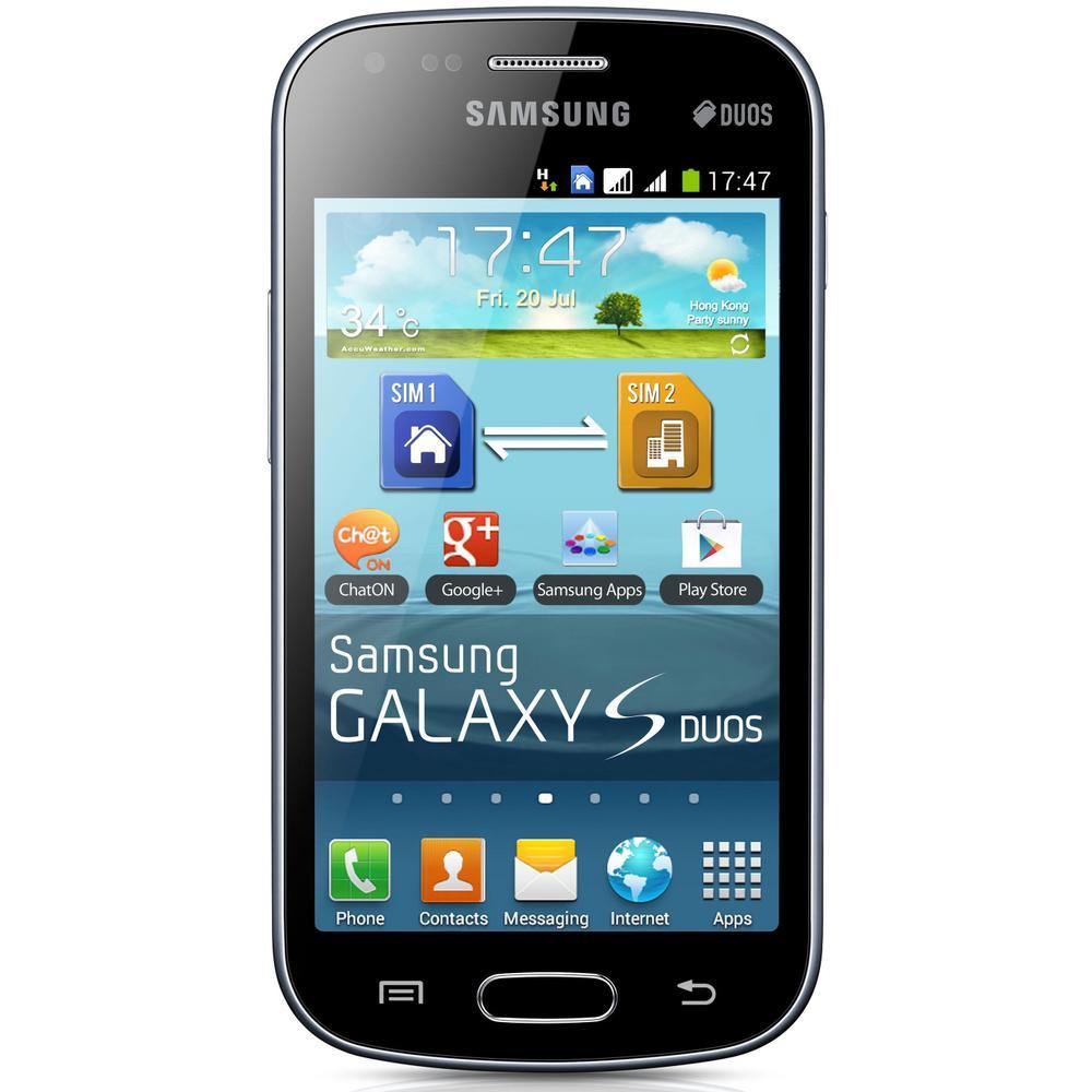 Samsung Galaxy S Duos S7562 Siyah Cep Telefonu