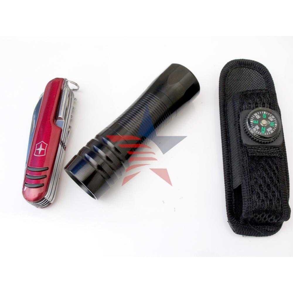 Modacar Otm37c003 9 Ledli El Feneri,çakı Seti Askı+kılıf Aliminyum-metal 37c003