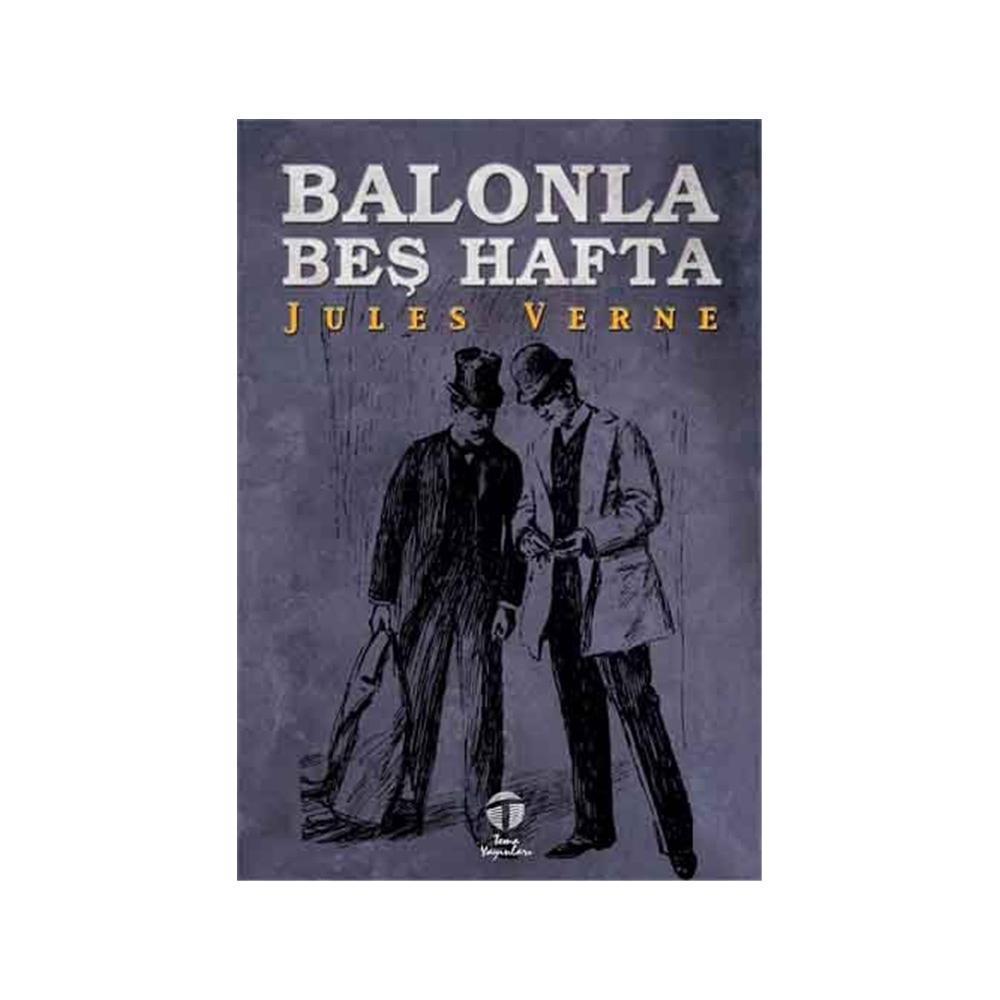 BALONLA BEŞ HAFTA - JULES VERNE (ISBN:9786051211688)