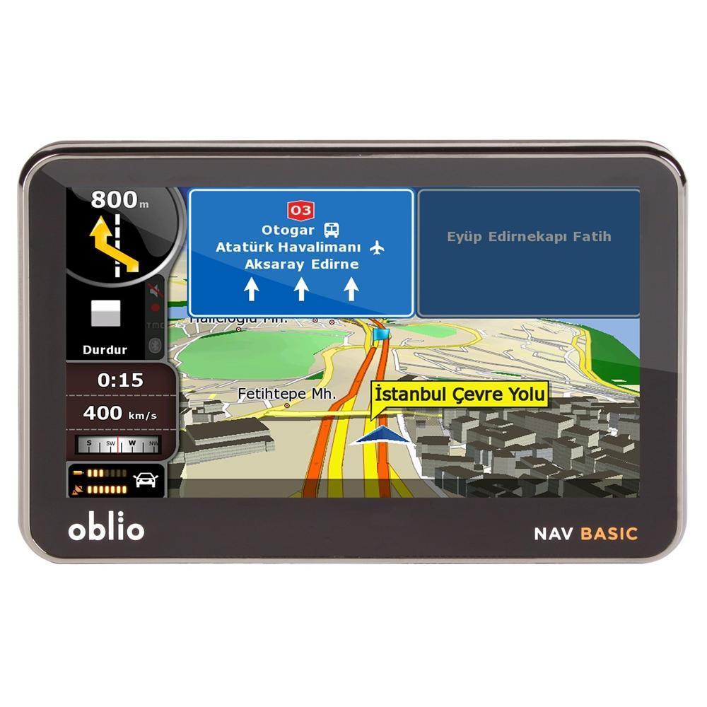 Oblio Nav Basic Navigasyon Cihazı