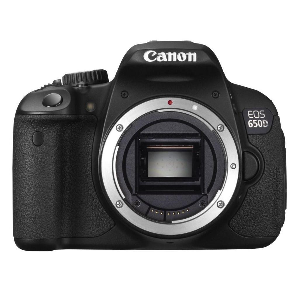 Canon EOS 650D + 18-55mm IS Lensli DSLR Fotoğraf Makinesi