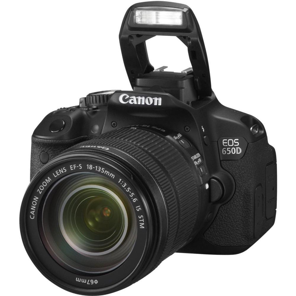 Canon EOS 650D + 18-135mm IS Lensli DSLR Fotoğraf Makinesi