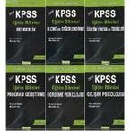 KPSS EĞİTİM BILIMLERI KONU ANLATIMLI MODÜLER SET - KOLEKTIF (ISBN:9789759030537)