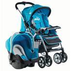 Drago Baby Omega BTS-289 Mavi Travel Sistem Bebek Arabası