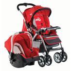 Drago Baby Omega BTS-289 Kırmızı Travel Sistem Bebek Arabası