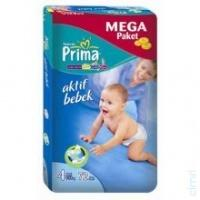 En ucuz Prima 4 7-18Kg Maxi 72 Adet Bebek Bezi fiyatları, yorumları ve özellikleri
