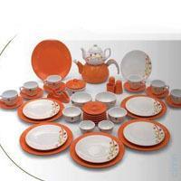 En ucuz Zinet Keramika Porselen 44 Parça Kahvaltı Takımı-Turuncu fiyatları, yorumları ve özellikleri